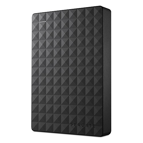 - Seagate Expansion Portable 4TB External Hard Drive Desktop HDD - USB 3.0 for PC Laptop (STEA4000400)