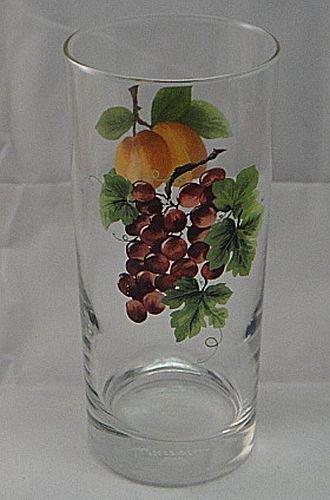 (Royal Doulton Vintage Grape (Black Back-Stamp) Highball 14 OZ)