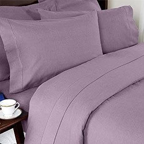 300 Thread Count California King Siberian Goose Down Comforter 650FP 32 38 Oz With 100 Natural Combed Cotton Plain Solid Damask Cover Lavender