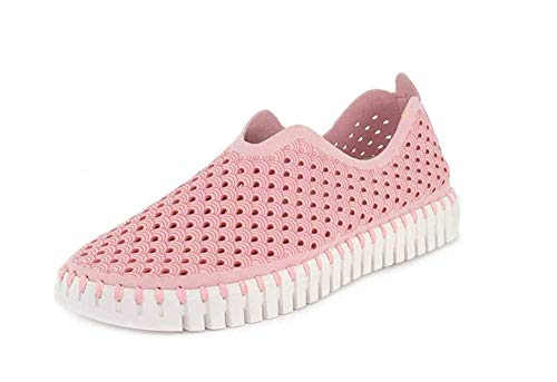 ILSE JACOBSEN Women's Tulip 139 Flat (5, Adobe Rose)