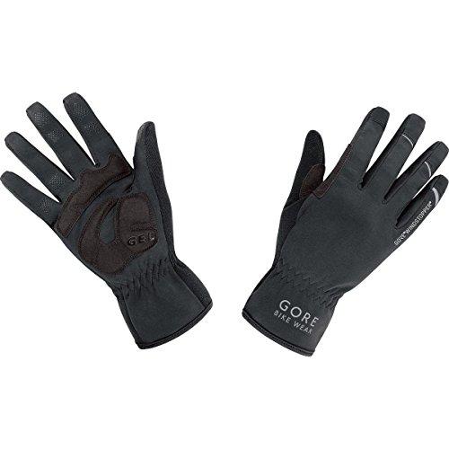 GORE BIKE WEAR, Damen und Herren, Fahrrad-Handschuh, WINDSTOPPER, Universal WS Gloves, Größe 7, Farbe: Schwarz, GWPOWP