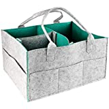 Baby Diaper Caddy Organizer Diaper Tote Bag Storage Nursery Bin Portable Diaper Caddy Baby Shower Gift Basket for Changing Table Baby Diapers, Wipes and Toys to Household, Car and Travel by Lee-buty