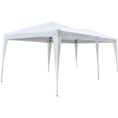 Realremhai Folding Tent with Carry Bag White, Home Use Outdoor Camping Waterproof, 3 x 6m : Garden & Outdoor