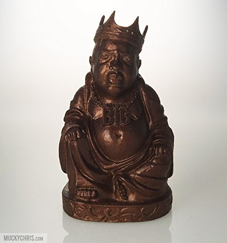 Biggie Buddha Statue Metallic Copper 6