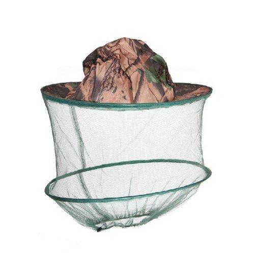 motivo mimetico HugeStore adatto per la pesca e l/'apicoltura Khaki Cappello con rete anti zanzare