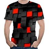 Amazon.com: Camisetas unisex con estampado 3D estampado de ...