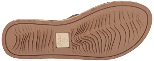 Reef UK Flip Flops Voyage Women's 7 Caa Sunset Caramel Brown Caramel 0gwr0qHx