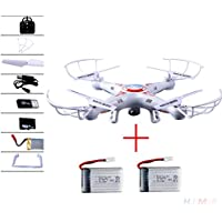 Cewaal X5C-1 3 Battery Explorers 2.4Ghz 4CH 6Axis Gyro RC Quadcopters Drone UFO Airplane UAV RTF White