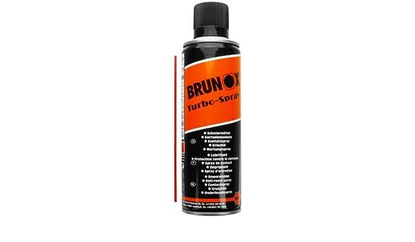 Brunox Turbo de spray de 5 Función Spray 300 Ml (Lubricante, Kriechöl/Óxido, Inhibidor de corrosión, limpieza, Contacto Spray): Amazon.es: Bricolaje y ...