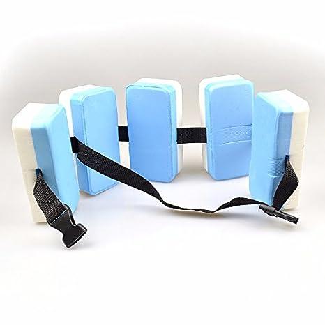BONYTAIN - Cinturón flotante de natación para niños y adultos, flotador de entrenamiento EVA: Amazon.es: Hogar