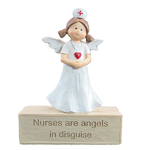 WonderMolly Angel Collection Nurses are Angel in Disguise Nurse Angel Figurine ()
