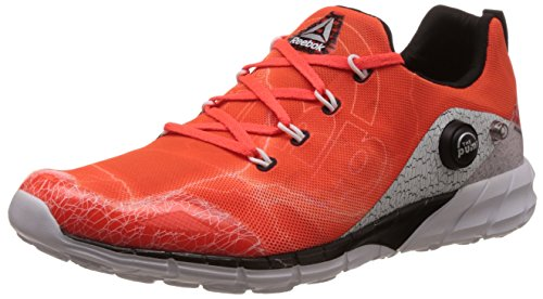 Reebok Zapatillas de running para mujer - naranja/blanco