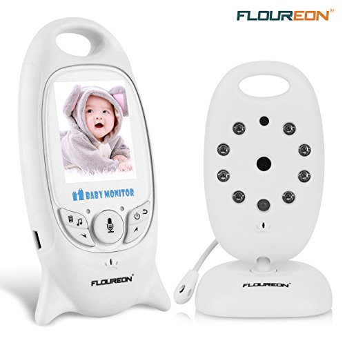 FLOUREON Wireless 2.4 GHz Baby Monitor Digital Video Nanny S