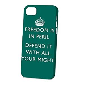 Case Fun Apple iPhone 5C Case - Vogue Version - 3D Full Wrap - Freedom is in Peril