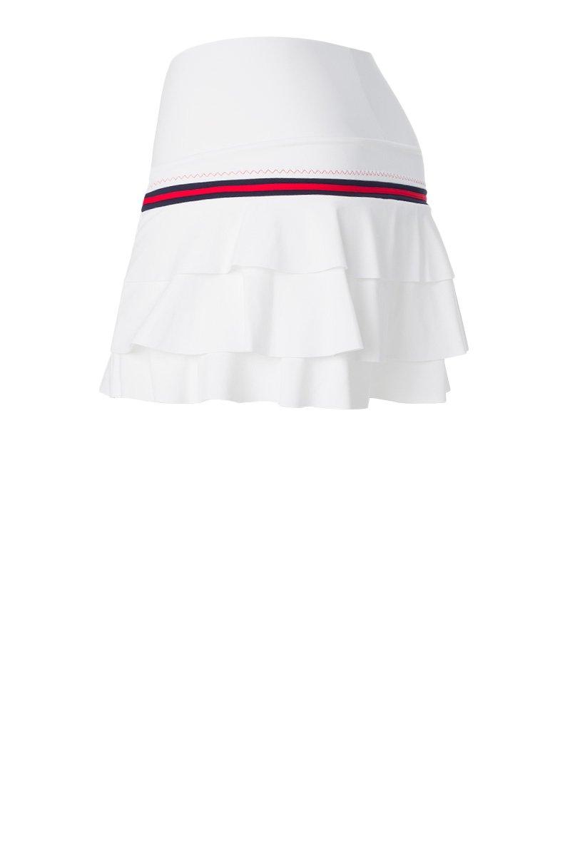 Naffta Tenis Padel - Falda-Short para Mujer, Color Blanco/Marino, Talla XL: Amazon.es: Deportes y aire libre