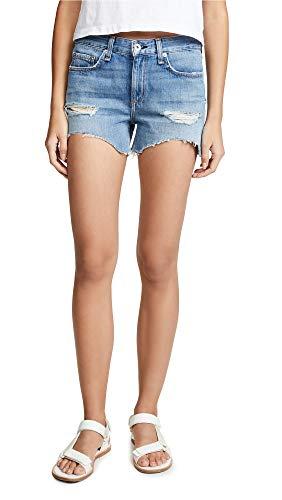 (Rag & Bone/JEAN Women's Dre Shorts, Bishop, Blue, 25)