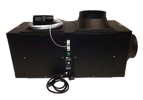 Wine Guardian D025 -1/4 Ton (800 Cu. Ft.) Wine Cellar Cooling System by Wine Guardian