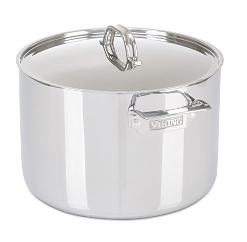 Viking 3-Ply Stainless Steel Stock Pot, 12 Quart by Viking Culinary