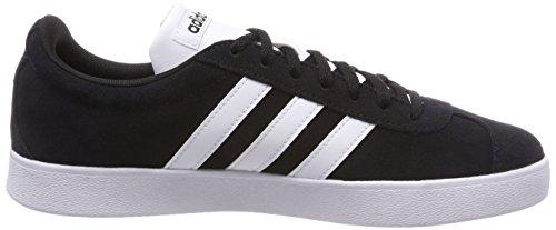 Adidas Herren Vl Court 2.0 Gymnastikschuhe Schwarz (nucleo Nero / Ftwr Bianco / Ftwr Bianco)