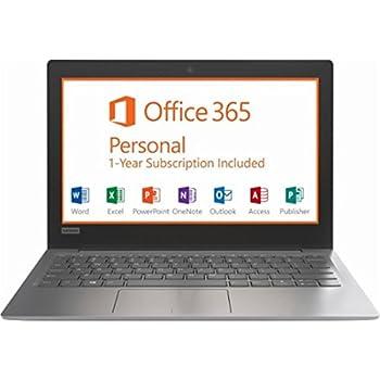 Lenovo IdeaPad Flagship High Performance 11.6 inch HD Laptop PC | Intel Celeron N3350 | 2GB