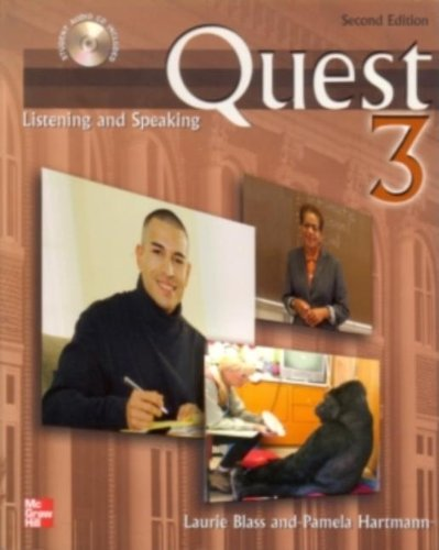 Quest 3 Listening and Speaking Student Book with Audio Highlights, 2nd Edition
