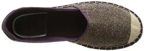 Damen Espadrilles Beere 1218 205 839 Violett Mustang 7gZqww