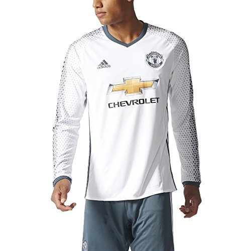 2016-2017 Man Utd Adidas Third Long Sleeve - Utd Football Shirt Man