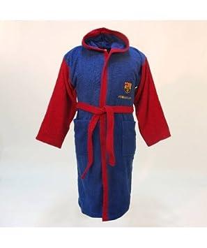 00a085279f4ff FC Barcelona - Peignoir Peignoir bleu, FC Barcelone, pour enfant. 6 ...