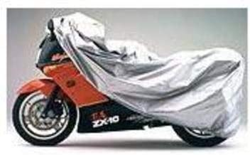 Covercraft Ready-Fit Deluxe Silver Urethane Motorcycle Cover