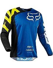 Męska koszulka rowerowa, długi rękaw Rowerowe górne górne szybkoschnące oddychające górskie MTB koszulka wyścigi rowerowe ubrania