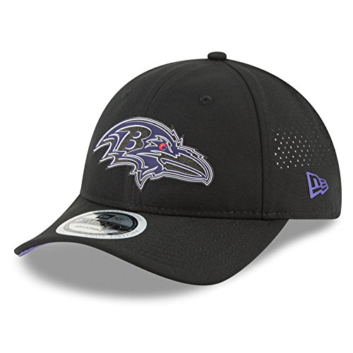 New Era Baltimore Ravens 2018 NFL On Field Training Packable 9TWENTY Cap by New Era