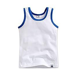 4 Pack Undershirts Days Mint / White / Blue / Sky L