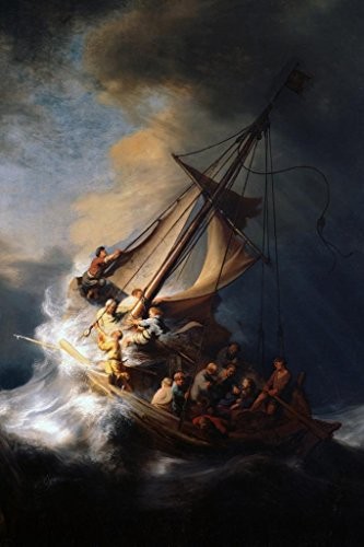 Rembrandt Christ In The Storm On The Sea Of Galilee Art Prin