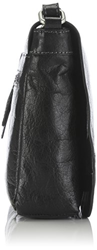 GERRY WEBER Lugano 4080002895 Damen Umhängetaschen 29x22x7 cm (B x H x T) Schwarz (Black 900) KQbGtALSo
