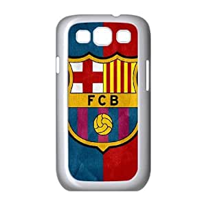 Samsung Galaxy S3 9300 Cell Phone Case White FC Barcelona LSO7914134