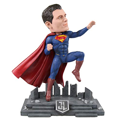 FOCO DC Comics Justice League Character Bobble, Superman (Bobble Head Superman Head)