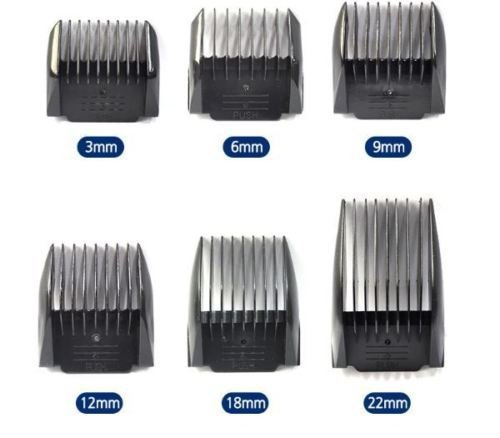 6 Attachment Combs - 9