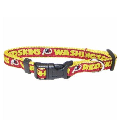 Pets First NFL Washington Redskins Collar, Medium, My Pet Supplies