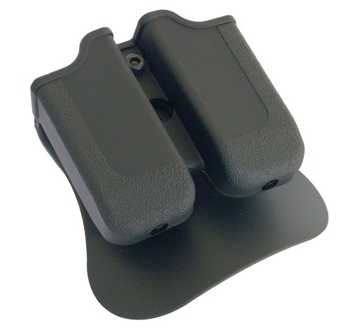 (Double Magazine Pouch Fits Glock 17/19/22/23/26/27/31/32/33/34/35/37/38/39)