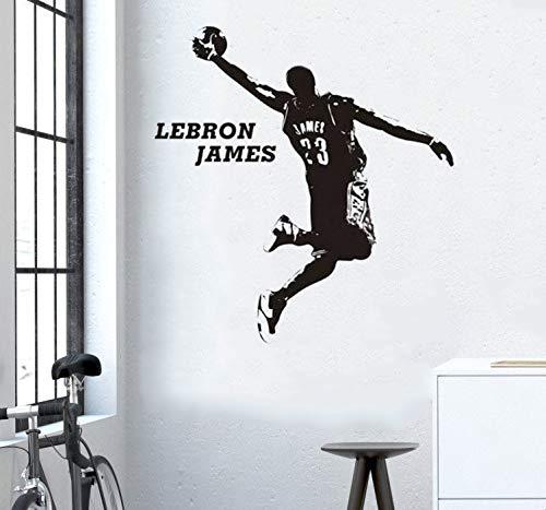 vinilos deportivos Baloncesto Lebron James Room Decor 3D Poster ...