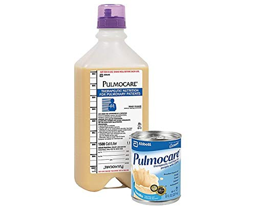 Pulmocare Specialized Nutrition For Pulmonary Patients Ready-To-Use (Vanilla) 8-Fl-Oz Can - 1 Case Of 24