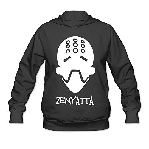 Overwatch Women's Zenyatta Hoodies Sweater Size XL -