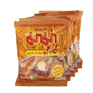 (MAMA INSTANT NOODLES SHRIMP CREAMY TOM YUM FLAVOUR 10 of Pack)