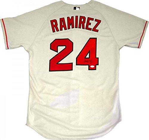 Manny Ramirez Autographed Jersey - JSA - Autographed MLB Jerseys Ramirez Autographed Jersey