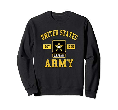 Proud US Army Sweat Shirt Military Pride Sweater
