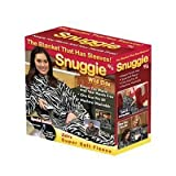 Snuggie Fleece Blanket As Seen On TV - Zebra