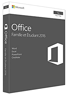 Microsoft Office Home and Student 2016 for Mac, French (B01F66IRZM) | Amazon Products