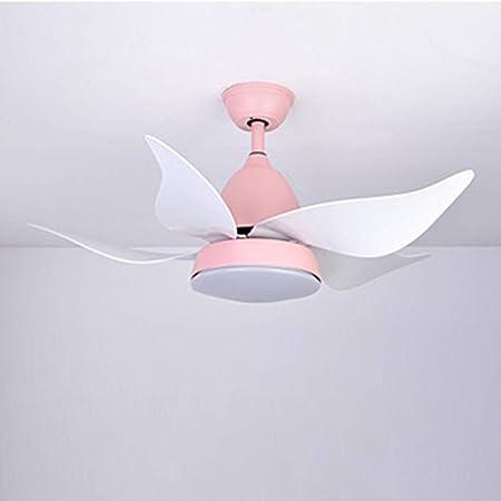 Ventilador de Techo Moderno, con Soportes de luz led para ...