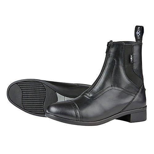 Saxon Ladies Syntovia Zip Paddock Boot 7 Black by Saxon