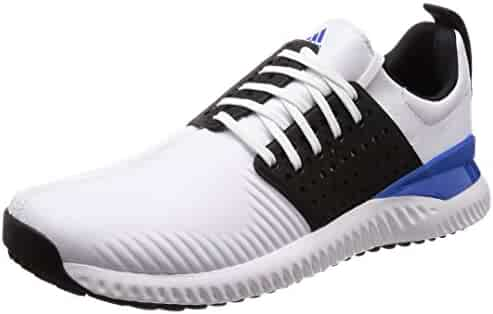 adidas Golf 2018 Mens Adicross Bounce Spikeless Golf Shoes - Wide Fitting  White Core Black e8c3ab9a654